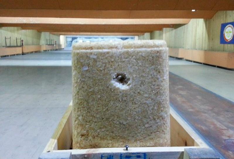 Материал «Пайкрит» – замороженная смесь воды и древесных опилок.  Предел прочности пайкрита при сжатии достигает 50 кг/см2.
