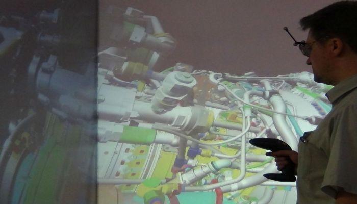 Программно-аппаратный комплекс виртуального окружения (CAVE 3D)