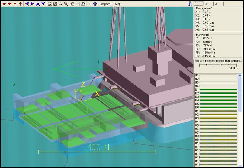 Морская операция по стыковке верхнего строения и опорного основания платформы Приразломная