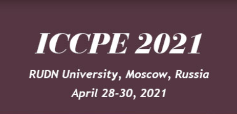 ICCPE 2021, 10th International Conference on Chemical and Process Engineering