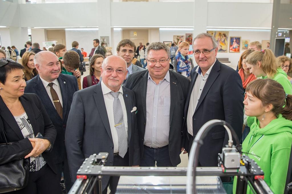 Визит делегации Университета прикладных наук Вильдау (Германия) в СПбПУ