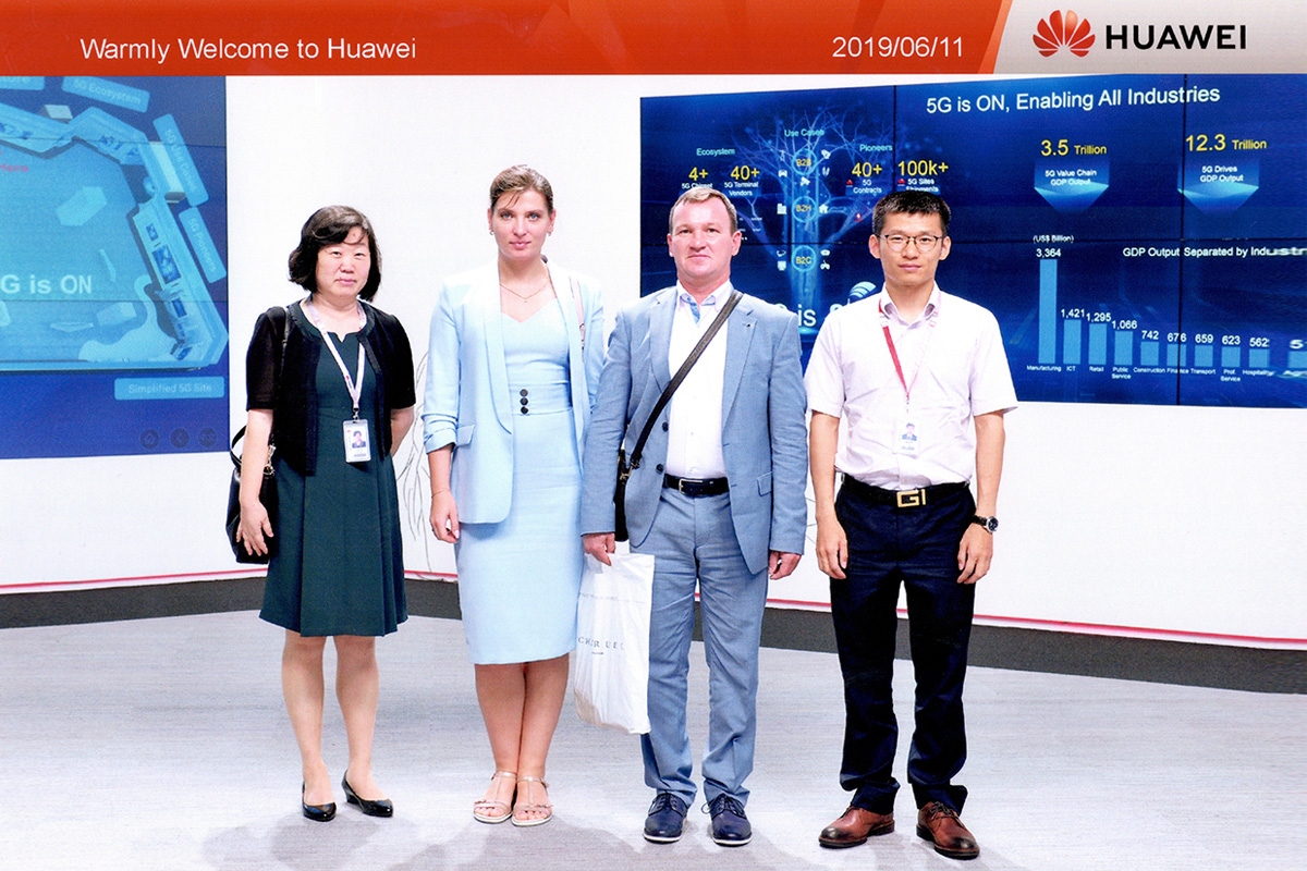 In Contact with Global Leaders Polytechnic University Develops Partnership with Huawei
