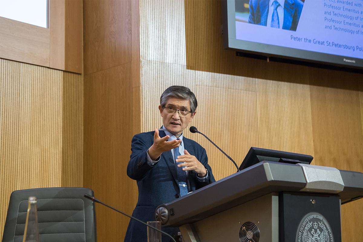 Nobel laureate Rae Kwon Chung talks about energy scenarios