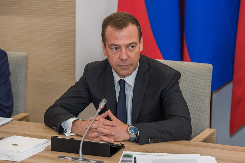 Dmitry Medvedev Held a Presidium Meeting of the Presidential Council for Economic Modernization and Innovations of Russia