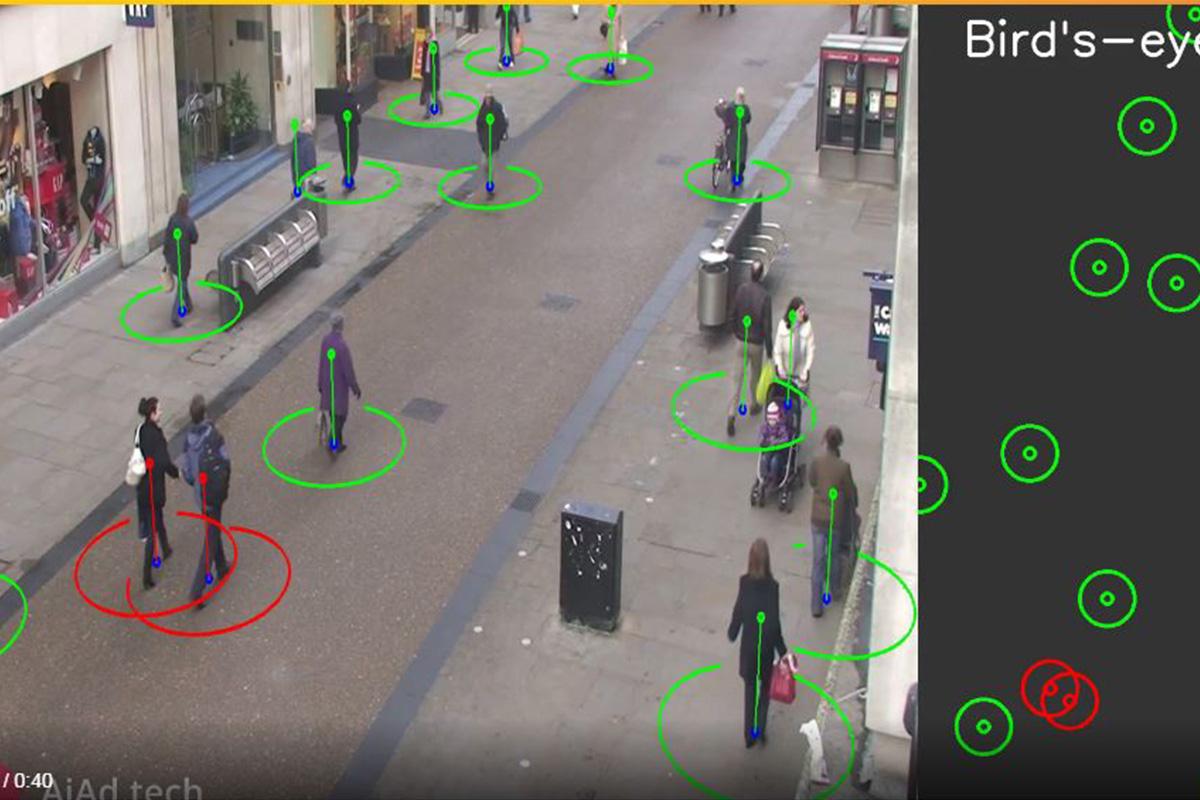 Выпускники Политеха разработали систему автоматического контроля социальной дистанции