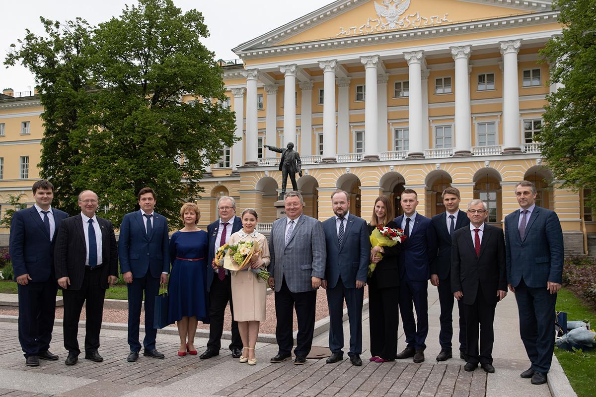Достижения политехников в области науки и образования отмечены премиями правительства Санкт-Петербурга
