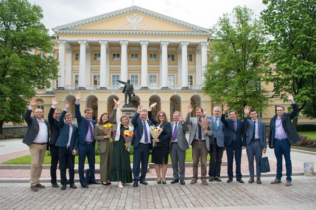 Политехникам вручили премии правительства Санкт-Петербурга