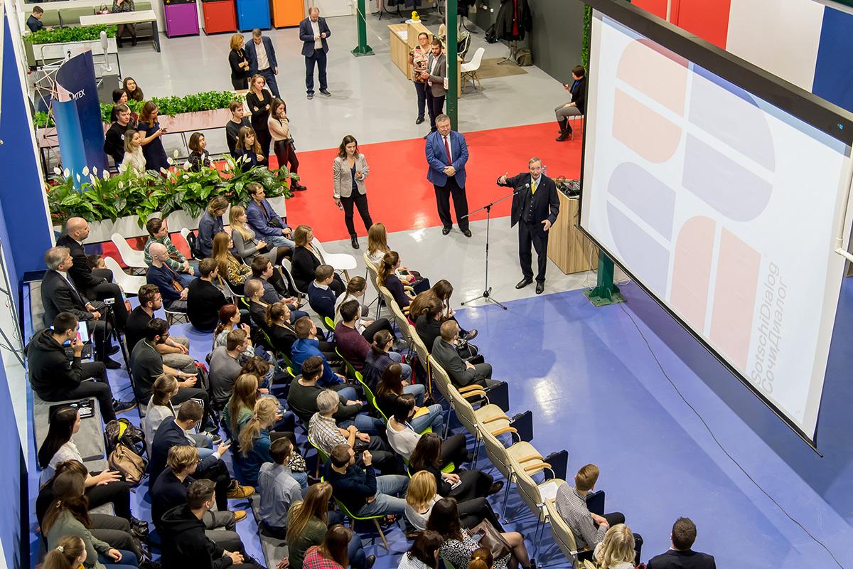 Президент Европейской ассоциации торгово-промышленных палат Кристоф Ляйтль посетил Политех