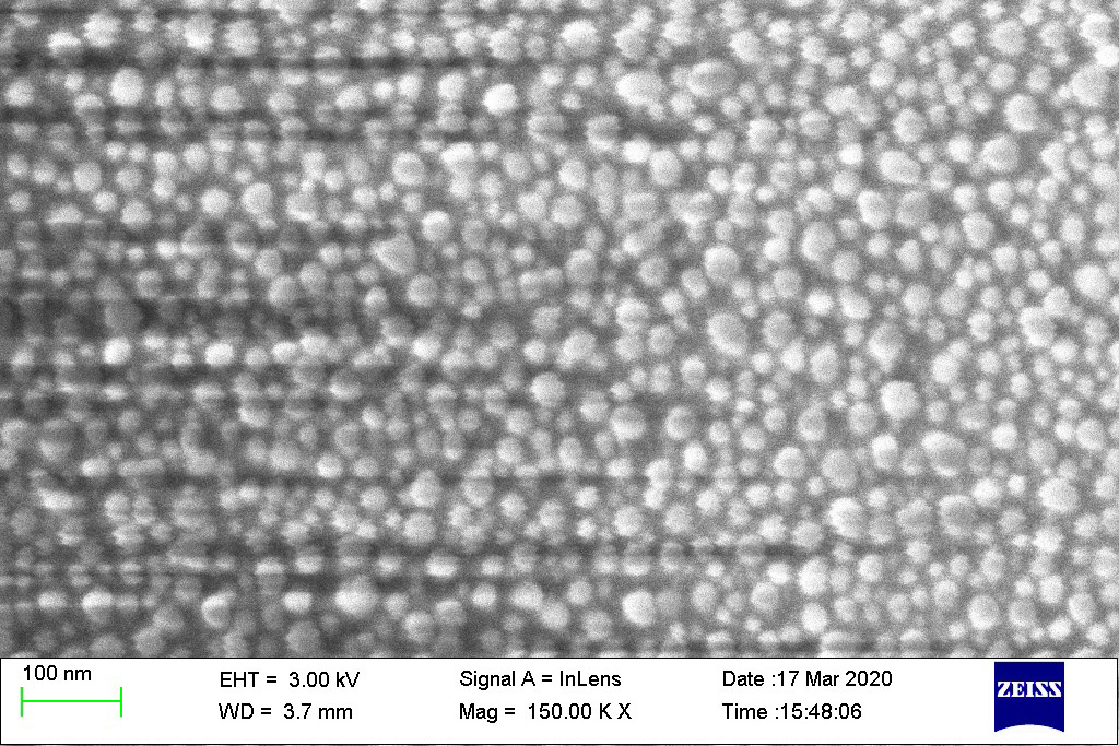Scientists studied nanoparticles embedded in silver-ion-exchanged glasses