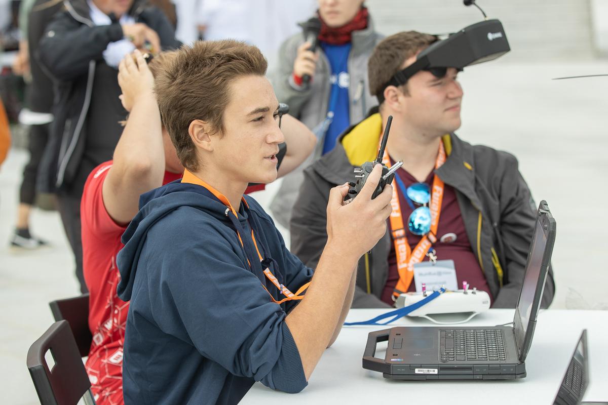 Вот такое наше лето: Политех провел соревнования по робототехническому многоборью